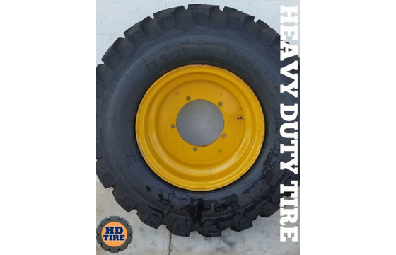 17.5-25 for JCB 510-56 Telehandler Tire on 5 Bolt Wheels, 17.5x25 Tyre X 2