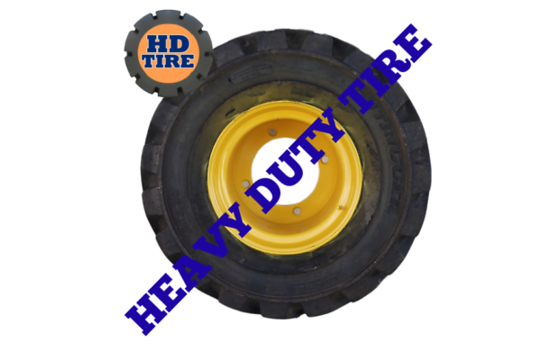 33x15.50-16.5 New OTR Foam Filled Loader Tires 331550165 Tyres x2