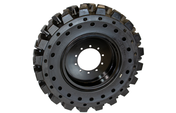 6K Telehandler Solid Tire & Wheel Assembly - 13.00x24/8.5