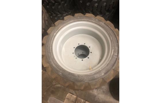 Genie S60 Left-Side Foam-Filled Tire & Wheel Assembly