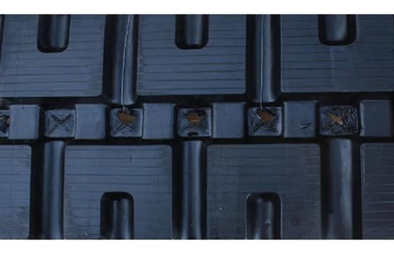 450X86X56 Rubber Track - Fits Case Model: 60XT, C-Lug Tread Pattern