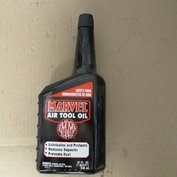 Pneumatic Air Tool Oil 1 Qt. Marvel