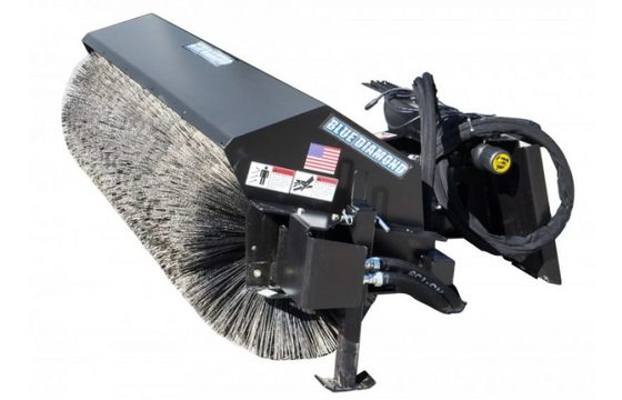 """60"""" Hydraulic Heavy Duty Rotary Angle Broom"""