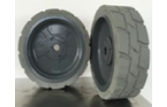 12.5x4.25 (31.75) Haulotte Optimum 6 Scissor Lift Tires