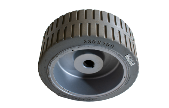 MEC 230X100(25) Scissor Lift Tire & Wheel Assembly