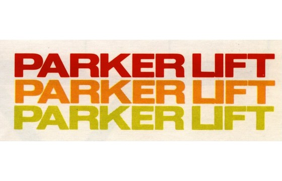 PARKER-LIFT  MANUAL, 2014/2418 MDLS  PART ASI/41284