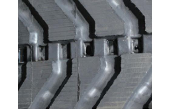 450X86X58 Rubber Track - Fits Bobcat Model: T870, D3 Block Tread Pattern