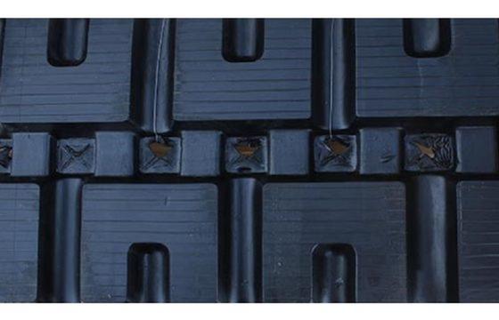 450X86X58 Rubber Track - Fits Gehl Models: RT250 / VT320, C-Lug Tread Pattern