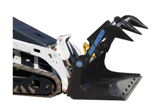 """Grapple Bucket, 50"""" Mini Series, With Boe, Full Size Q-A, Single Clamp"""