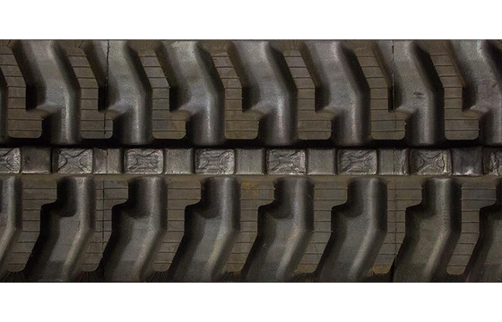 "Dominion 250X72X45 10"" Rubber Track for Bobcat MT85, 7-Tread Pattern"