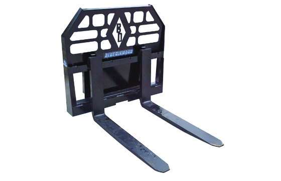 "Pallet Fork Assembly, Mini Series With 42"" Tines, Avant/Multi-One Mount"